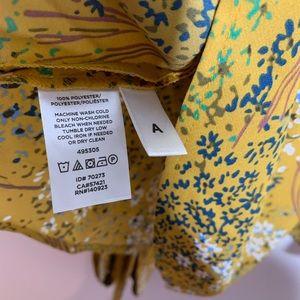 LOFT Tops - Ann Taylor Loft Floral Wrap Blouse Size Small
